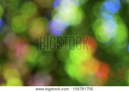 Abstract Positive Colored Background