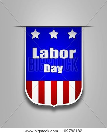 Ribbon On The American Labor Day