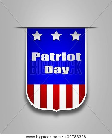 Ribbon On The American Patriot Day