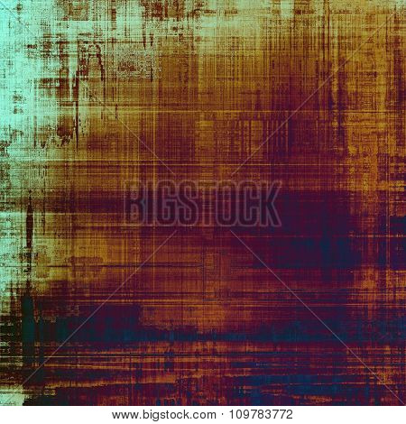 Old antique texture - perfect background with space for your text or image. With different color patterns: brown; red (orange); blue; purple (violet)