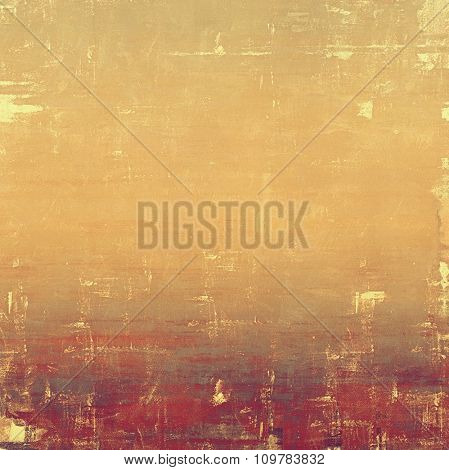 Computer designed highly detailed vintage texture or background. With different color patterns: yellow (beige); brown; red (orange); purple (violet)