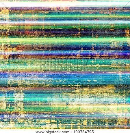 Old grunge template. With different color patterns: yellow (beige); blue; green; pink