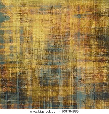 Grunge colorful texture for retro background. With different color patterns: yellow (beige); brown; black; gray