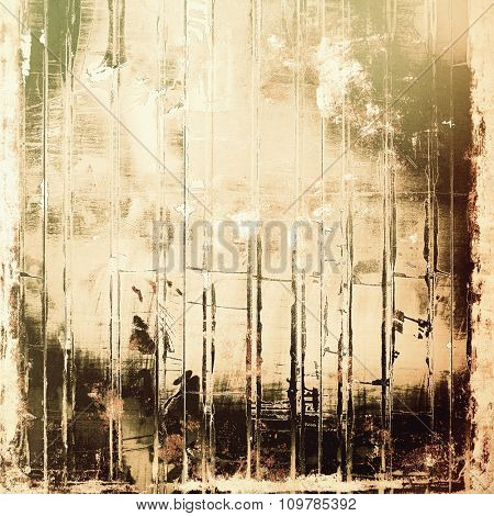 Grunge texture, distressed background. With different color patterns: yellow (beige); brown; black; gray