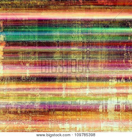 Computer designed highly detailed vintage texture or background. With different color patterns: yellow (beige); brown; red (orange); purple (violet); green