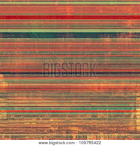 Designed background in grunge style. With different color patterns: brown; red (orange); green; pink