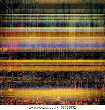 Aged grunge texture. With different color patterns: yellow (beige); red (orange); black; blue
