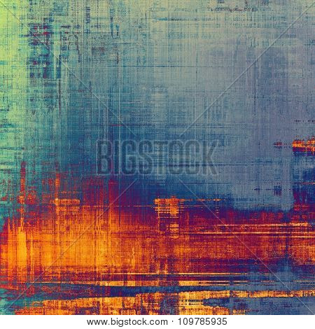 Rough grunge texture. With different color patterns: yellow (beige); red (orange); blue; purple (violet)