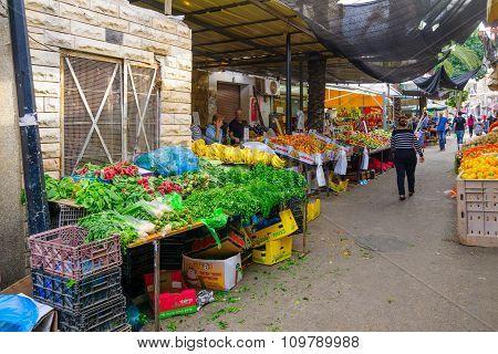 Wadi Nisnas Market, Haifa