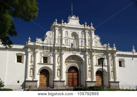 Cathedral in Antigua, Guatemala