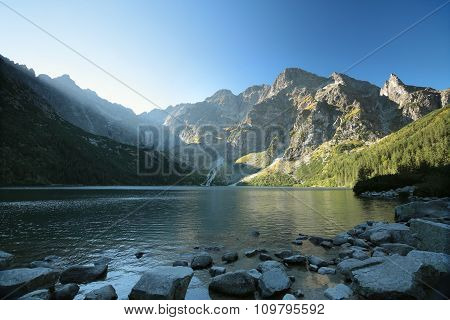 High peaks of the Tatra mountains
