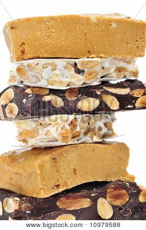 Turron, Typical Christmas Sweet Of Spain