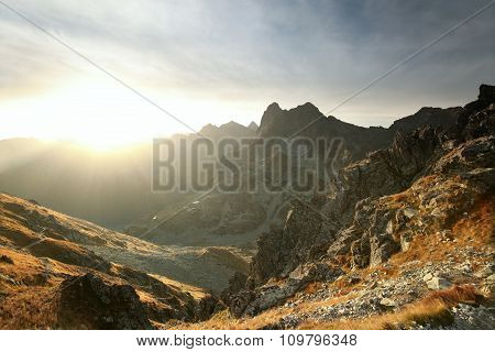 Tatra Mountains at dawn