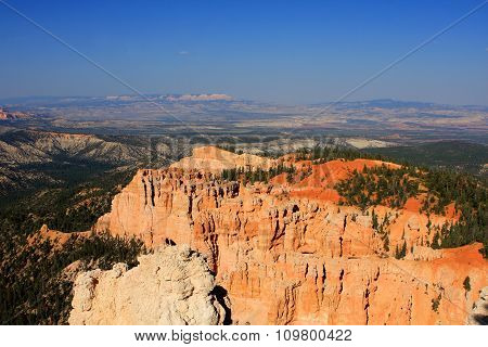 Bryce Canyon National Park located in Utah, USA