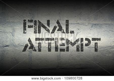Final Attempt Pr