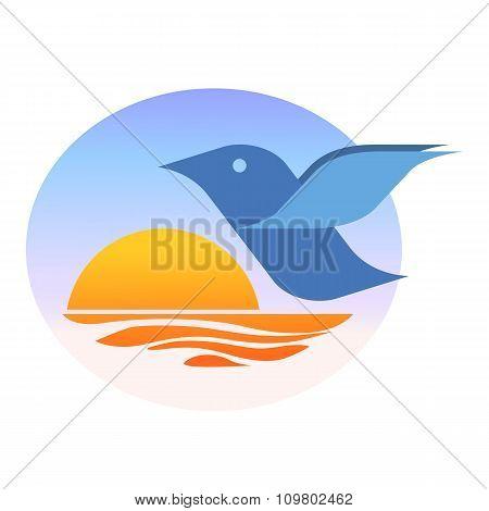 Birdie at dawn