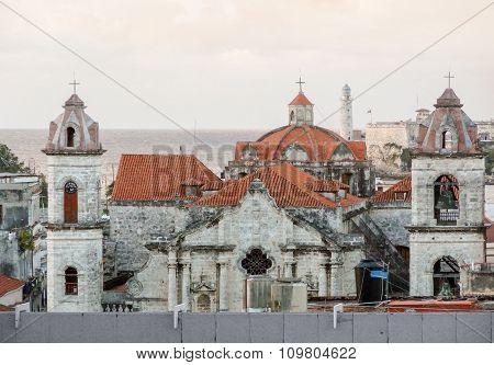 Architectural Detail In Havana
