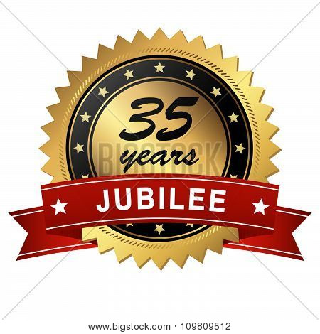 Jubilee Medallion - 35 Years