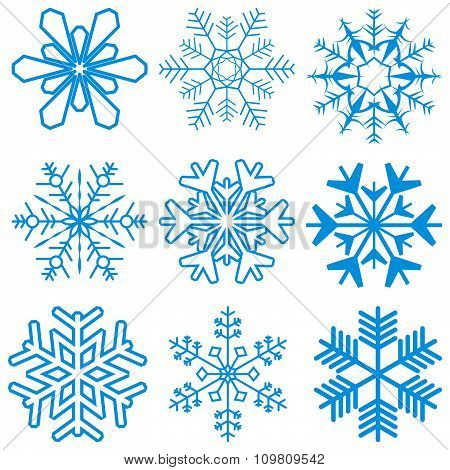Snow Flakes Collection