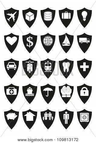 Protective Shields Insurance Set