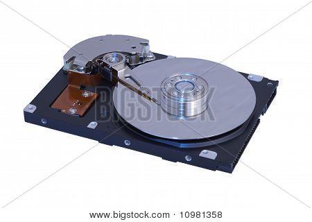 Pc Hard Drive, Internal, Deep Etched