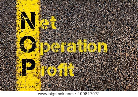 Business Acronym Nop As Net Operation Profit