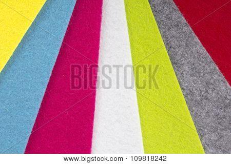 colorful felt texture