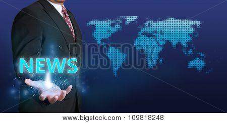 News Business Concept
