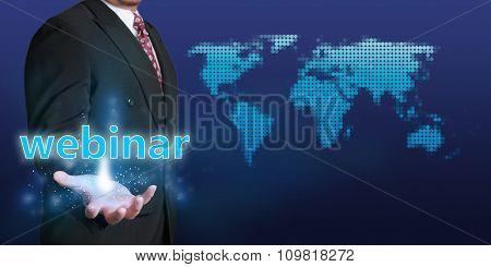 Webinar Business Concept