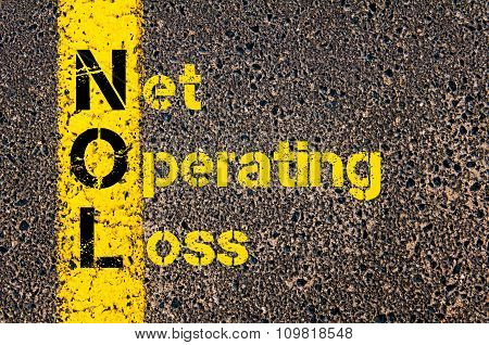 Business Acronym Nol As Net Operating Loss