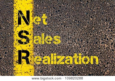 Accounting Business Acronym Nsr Net Sales Realization