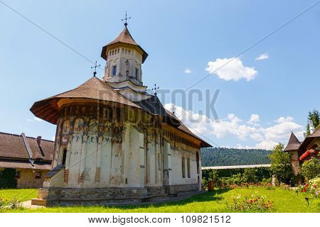 The Moldovita Monastery Is A Romanian Orthodox Monastery Situated In The Commune Of Vatra Moldovitei