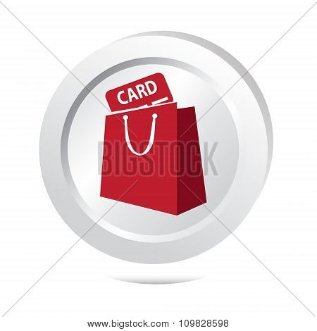 Bag With Card Button