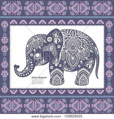 Vintage Indian elephant