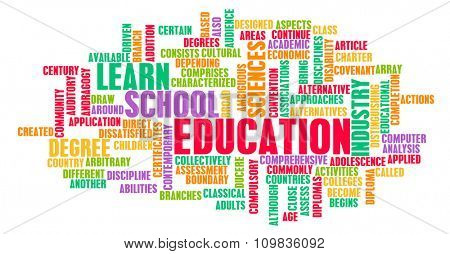 Education Industry for Children to Learn as Concept