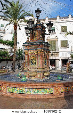 Fountain, Vejer de la Frontera.