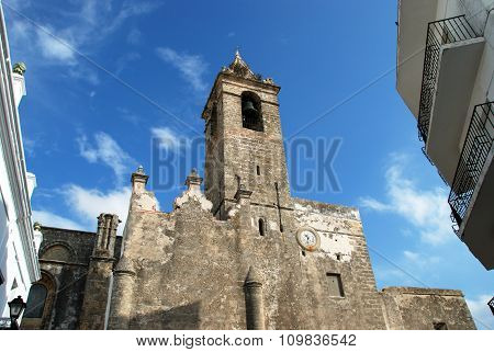 Parish church, Vejer de la Frontera.