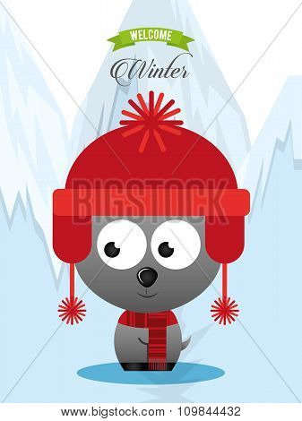 welcome winter design
