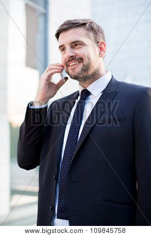 Business Phone Call