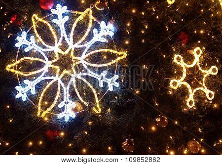 The stars for Christmas trees.