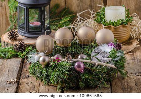 Christmas Advent Wreath