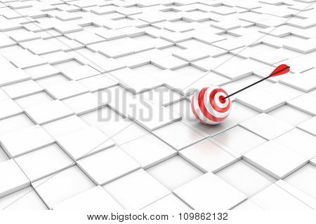 Target On Cubes