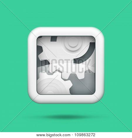 Gears tech icon