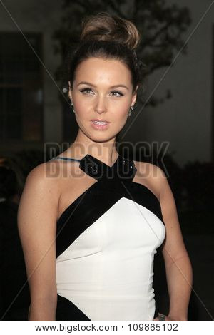 LOS ANGELES - FEB 15:  Camilla Luddington at the Make-Up Artists And Hair Stylists Guild Awards 2014 at the Paramount Theater on February 15, 2014 in Los Angeles, CA