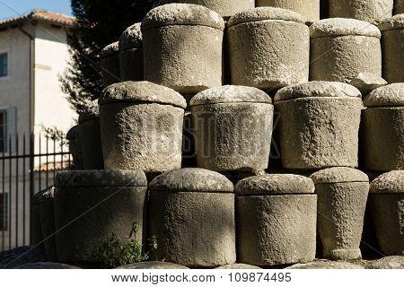 Roman funeral urns
