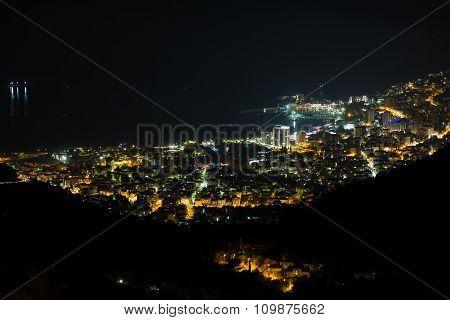 Budva At Night, Montenegro