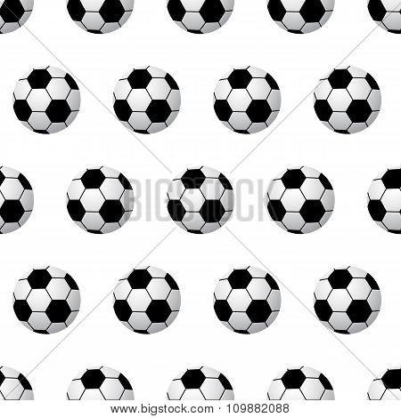 seamless soccer ball background