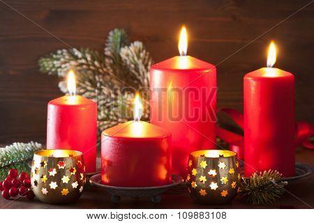 christmas candles lantern decoration