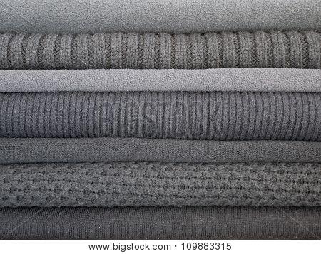 Warm Dark Gray Clothes