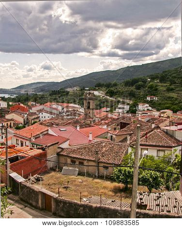 Banos De Montemayor Village, Extremadura, Spain